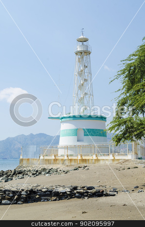 lighthouse in dili east timor, timor leste stock photo, lighthouse in dili east timor, timor leste by travelphotography