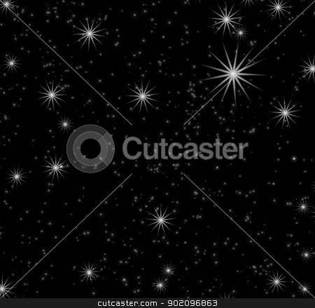stars background   stock photo, black background  with a stars by Vitaliy Pakhnyushchyy