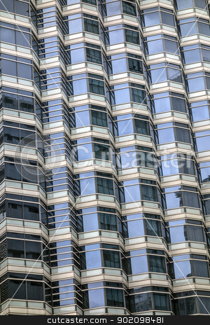 skyscraper windows background  stock photo, skyscraper windows background in Hong Kong  by Ingvar Bjork