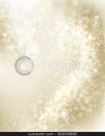 snowflakes  stock vector clipart, Abstract Christmas background with white snowflakes  by Miroslava Hlavacova