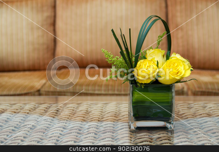 rose  stock photo, rose flower on a table by Vitaliy Pakhnyushchyy