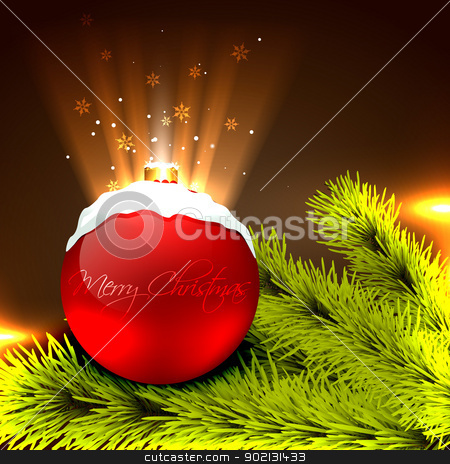 christmas vector background stock vector clipart, beautiful vector christmas design background by pinnacleanimates
