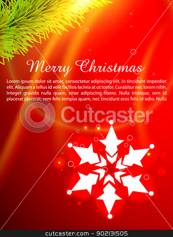 christmas background stock vector clipart, beautiful christmas background design with space for your text by pinnacleanimates