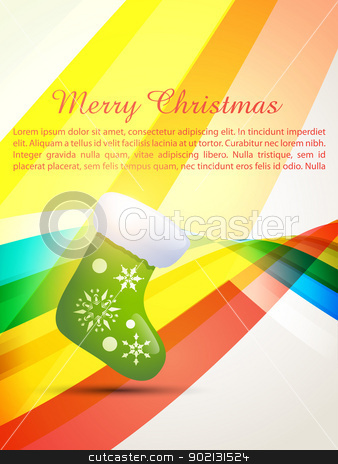merry christmas design stock vector clipart, vector merry christmas design background by pinnacleanimates