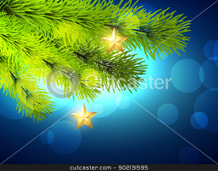 christmas vectoor design stock vector clipart, vector christmas background design with space for your text by pinnacleanimates