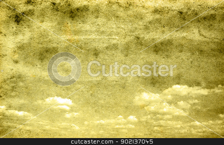retro sky stock photo, retro image of cloudy sky by Vitaliy Pakhnyushchyy