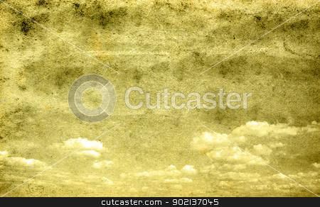 retro sky stock photo, retro image of cloudy sky by Vitaliy Pakhnyushchyy