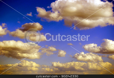 clouds stock photo, The blue sky and clouds by Vitaliy Pakhnyushchyy