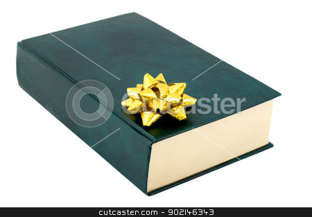 book gift  stock photo, book gift , close-up isolated on white background by Vladyslav Danilin