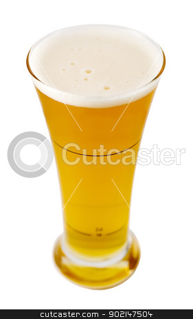 mug of beer stock photo, mug of beer isolated on white background by Vladyslav Danilin