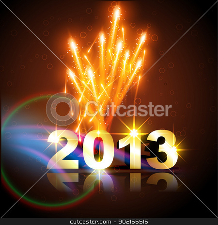 new year background stock vector clipart, vector new year design illustration by pinnacleanimates