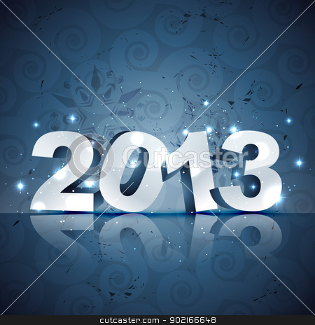 happy new year vector design stock vector clipart, beautiful happy new year vector illustration by pinnacleanimates