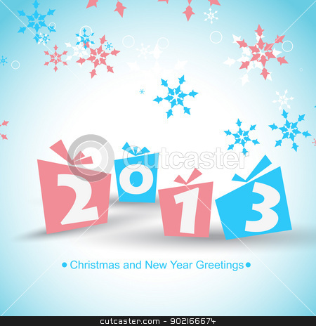 new year vector stock vector clipart, happy new year vector design illustration by pinnacleanimates