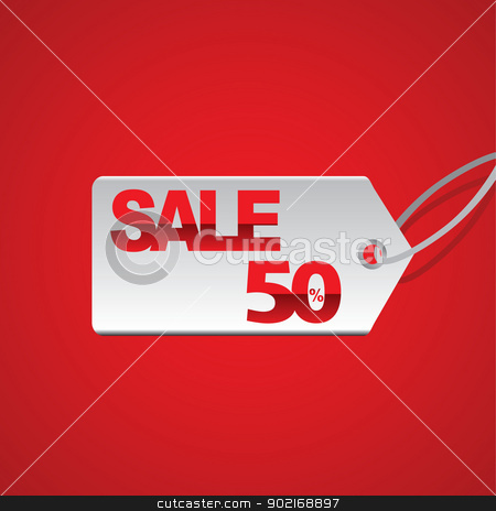 Sale stock vector clipart, Business by Tajdar Muhammad