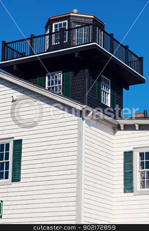 Tucker's Beach Lighthouse stock photo, Tucker's Beach Lighthouse in New Jersey by Henryk Sadura