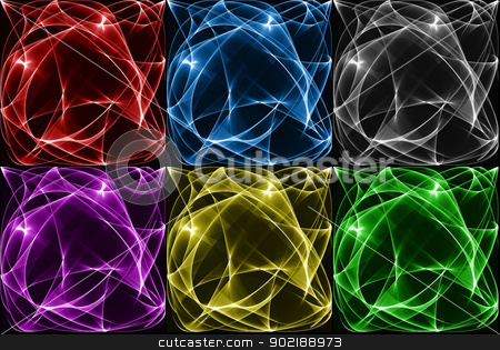 Abstract background set stock photo, Abstract colorful backgrounds by Dario Rota