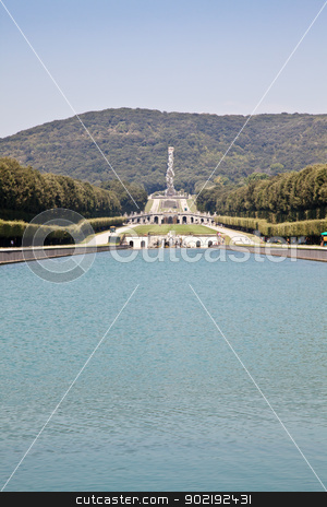 Reggia di Caserta - Italy stock photo, Famous Italian gardens of Reggia di Caserta, Italy. by Perseomedusa