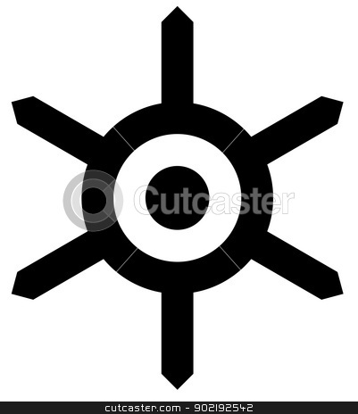 Tokyo city seal or emblem stock photo, Tokyo city sign or emblem isolated on white background, Japan. by Martin Crowdy