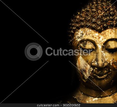 statue background stock photo, Buddha Face  by aomarch
