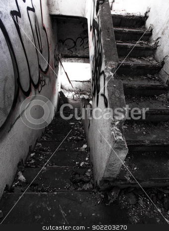 Old architecture. stock photo, Old architecture. Destruction building.  by Nneirda