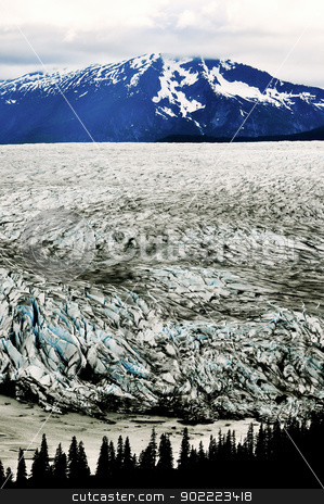 Alaskan Glaciers stock photo, Alaskan Glaciers by Liane Harrold