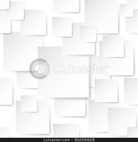 Stickers background stock photo, White Stickers. Illustration on white background for design by dvarg