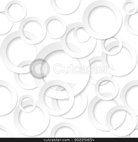 Paper form background stock photo, Rings shape sticker. Illustration on white background for design by dvarg