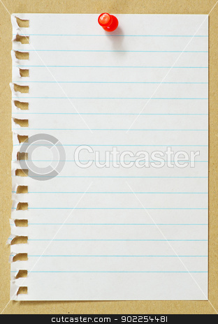 paper stock photo,  paper on wooden background.  for your message. by Vitaliy Pakhnyushchyy