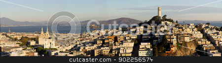 San Francisco Panorama stock photo, San Francisco Panorama by Click Images