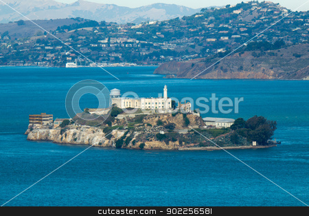 Alcatraz Island in San Francisco, USA stock photo, Alcatraz Island in San Francisco, USA by Click Images