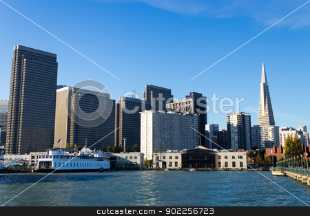 Downtown Business and Financial District stock photo, Downtown Business and Financial District by Click Images