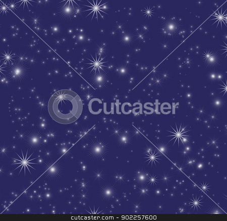 stars sky stock photo, blue background  with a stars by Vitaliy Pakhnyushchyy