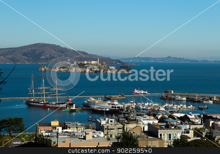 San Francisco Bay  stock photo, San Francisco Bay by Click Images