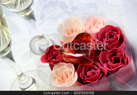 Valentin celebration stock photo, Wedding and Valentine's Day decoration by Tatiana Mihaliova