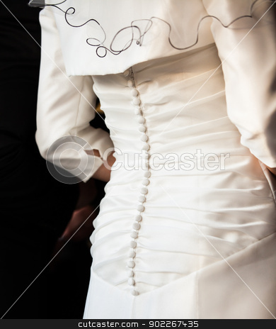 bride stock photo, back of a bride by Axel Lauer