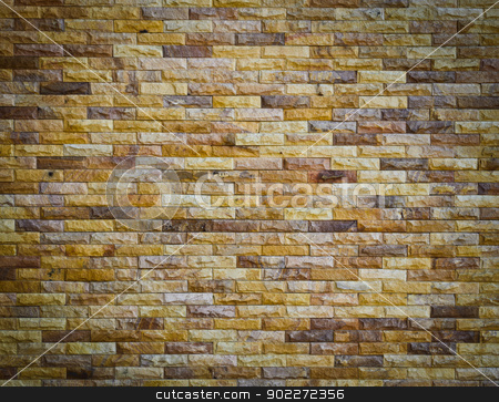 Brick wall texture stock photo, Modern brick wall texture by boonsom