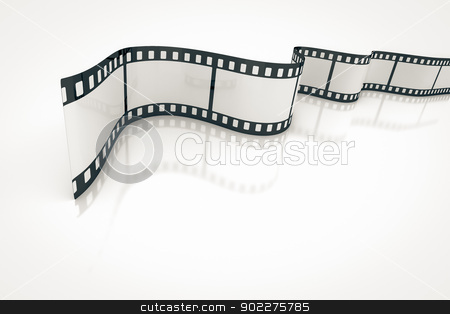 film strip stock photo, An image of a nice film strip background by Markus Gann