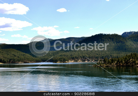 Black Hills lake stock photo, Black Hills lake by Liane Harrold