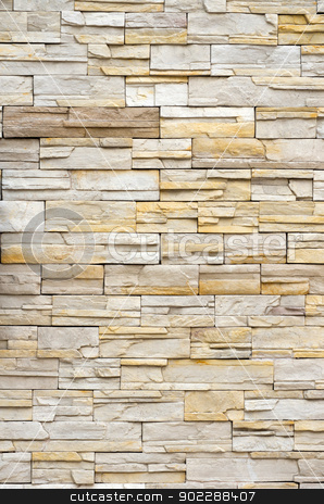 stone wall texture stock photo, Background of stone wall texture by Vitaliy Pakhnyushchyy