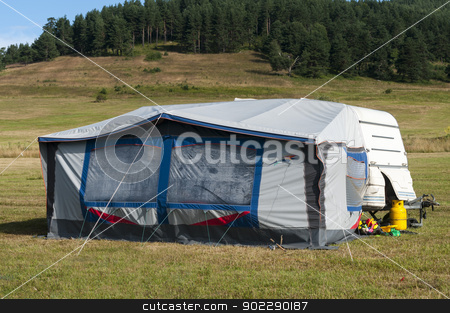 camping site stock photo,  by dobri71