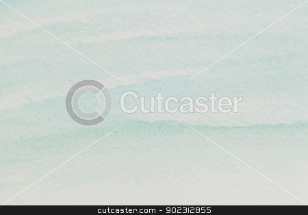 pastel blue watercolor abstract stock photo, watercolor paper texture with delicate pastel blue waves by Marek Uliasz