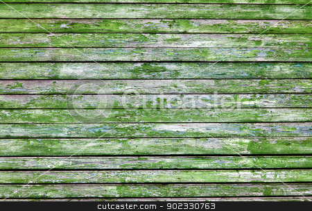 Wall encased old boards stock photo, The surface of the wall encased old boards by Alexey Romanov
