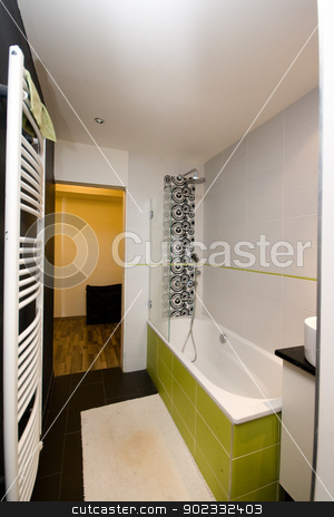 modern bathroom stock photo, modern bathroom by Sarka