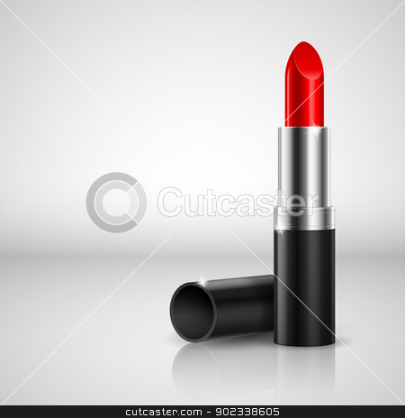 Lipstick stock photo, Realistic lipstick. Illustration on white background for design by dvarg