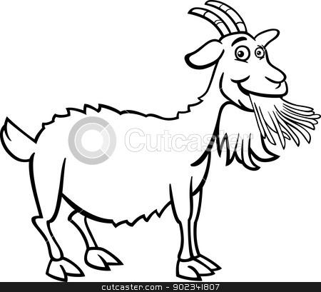 farm goat cartoon for ...