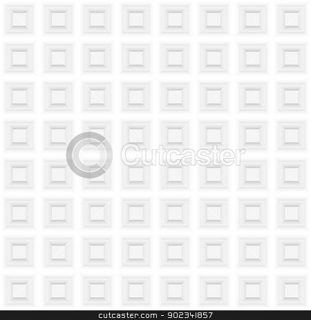 Square shape stock photo, Abstract square shape . Illustration on white background for creative design by dvarg
