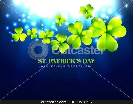 stylish saint patrick's day stock vector clipart, vector stylish saint patrick's day design by pinnacleanimates