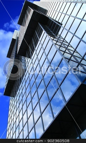 Building stock photo, Glass building in London town by zuzanaderek