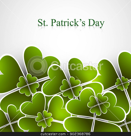 Abstract beautiful saint patricks day green colorful vector illu stock vector clipart, Abstract beautiful saint patricks day green colorful vector illustration  by bharat pandey
