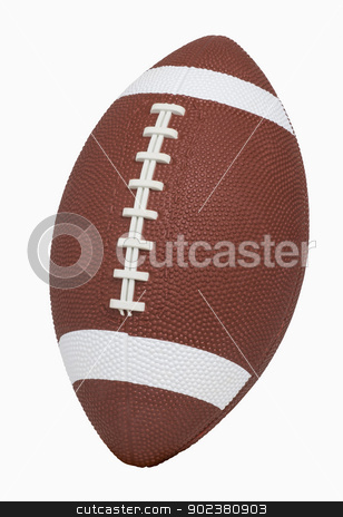 Football   stock photo, Football isolated on white, includes clipping path by Bryan Mullennix
